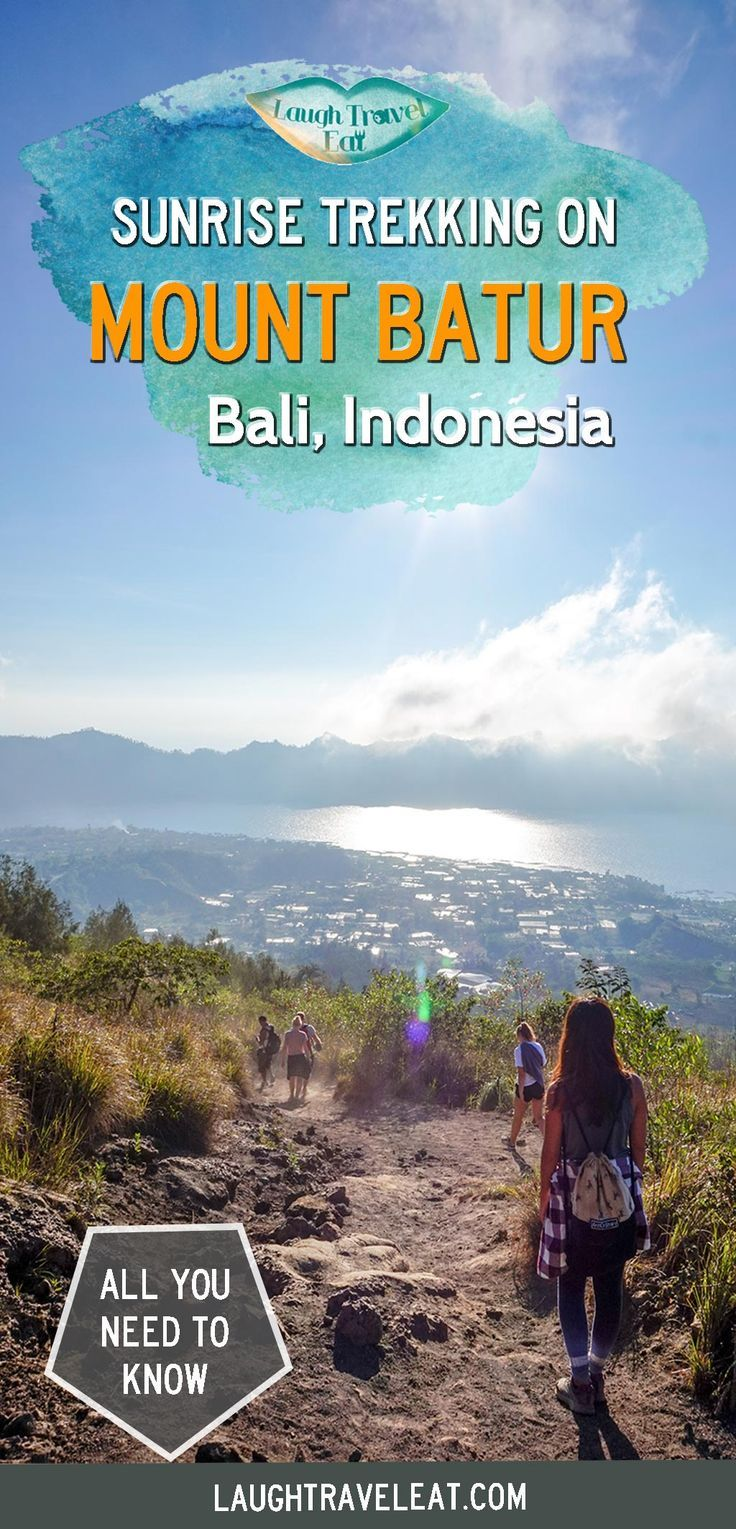 Mount Batur sunrise trek is one of the top activities to do for nature lovers in Bali, Indonesia. Here's the load down on what to expect