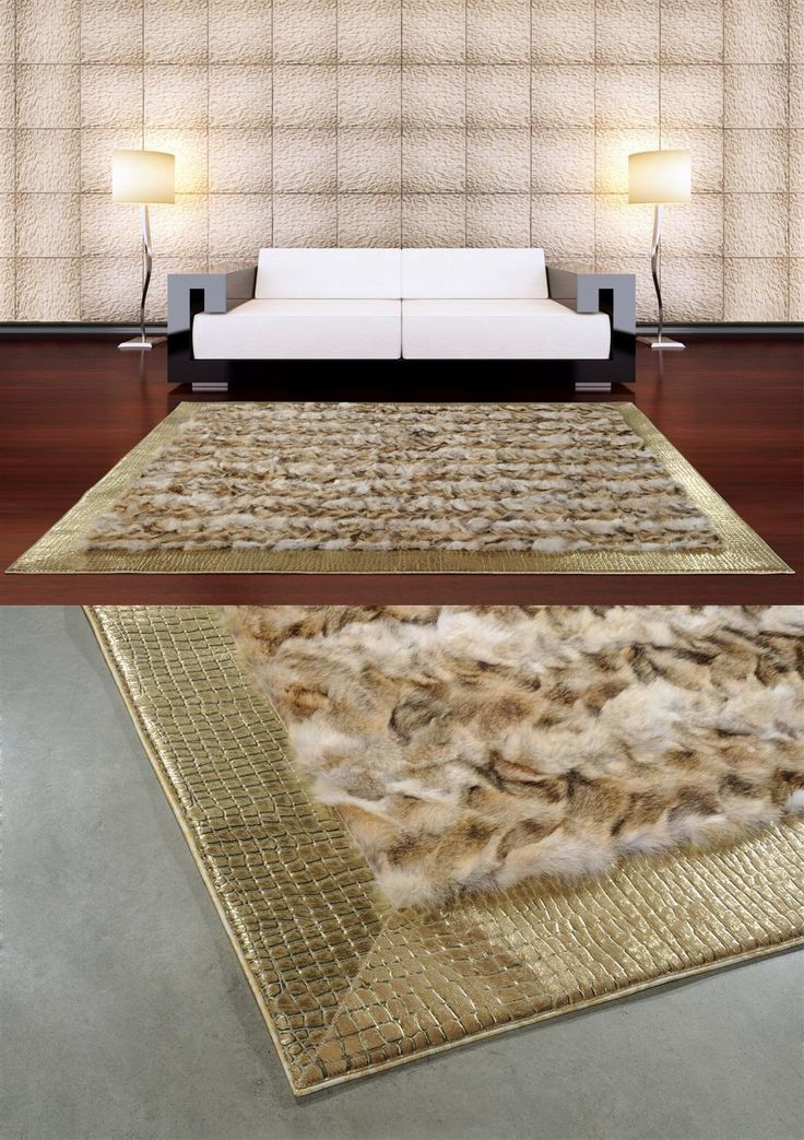 #Luxury Leather Nerocuoio #Italian Carpet