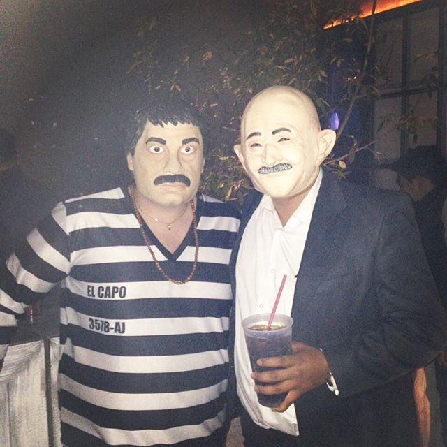 No andaba preso, andaba de parranda #elchapo #chapo #salinas #narco #cartel #sinaloa #chapoguzman #mexicancartel #druglord #701 #mexico #halloween #hallowfest #whoisthebaddest #drugs #trafficking #montereylocals #salinaslocals- posted by Luis Azuara https://www.instagram.com/luis_azuara - See more of Salinas, CA at http://salinaslocals.com
