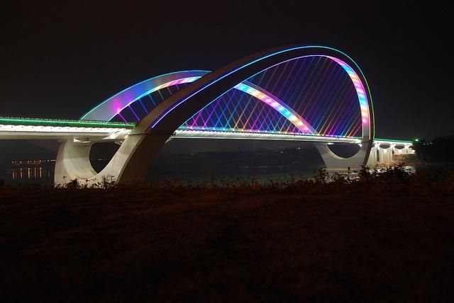 Nanning bridge, China
