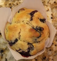 Clean Blueberry Muffins