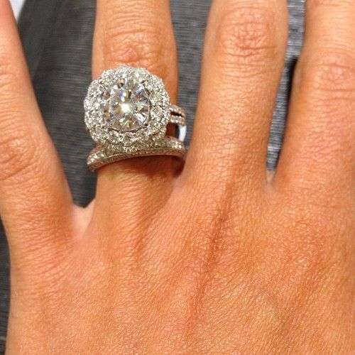 Best 25 Huge Diamond Rings Ideas On Pinterest 3 Carat