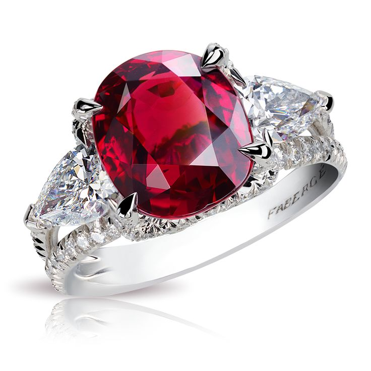 Faberge SOLYANKA RUBY RING