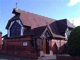GLOUCESTER - The Ukrainian Catholic Church of the Good Shepherd  in Derby Road (consecrated 18 December 1977) Also see Wikipedia