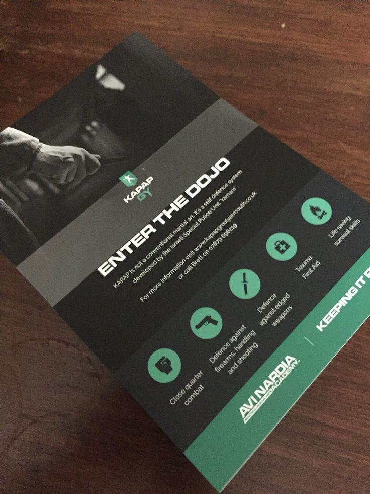 New leaflets... Enter the dojo