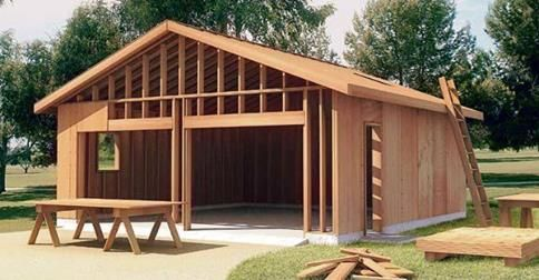 Building A Garage Is Something You Can Do And Save