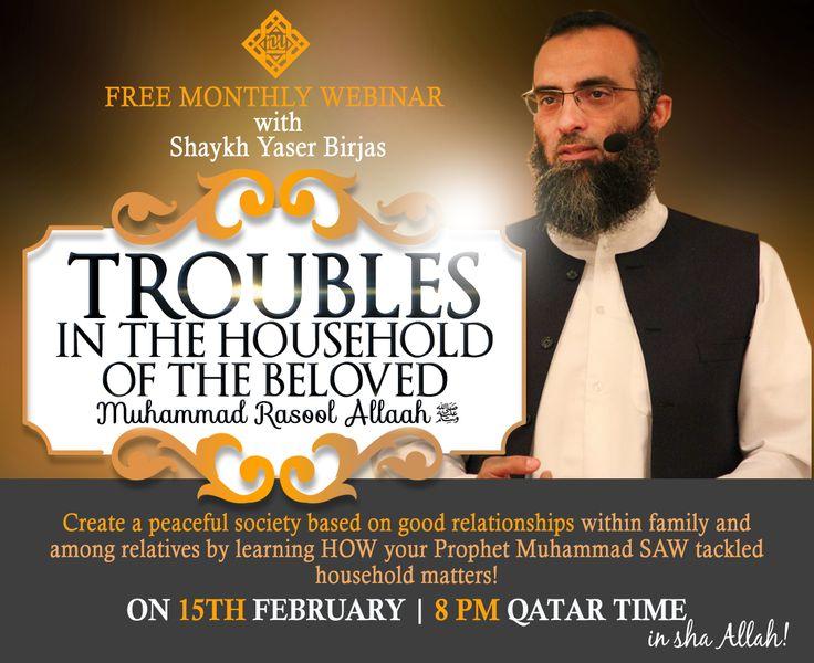 IOU Webinar with shaykh Yaser Birjas