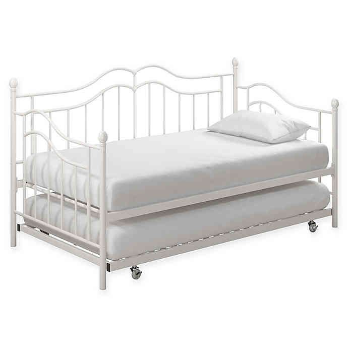 Everyroom Selene Metal Daybed With Trundle Bed Bath Beyond In