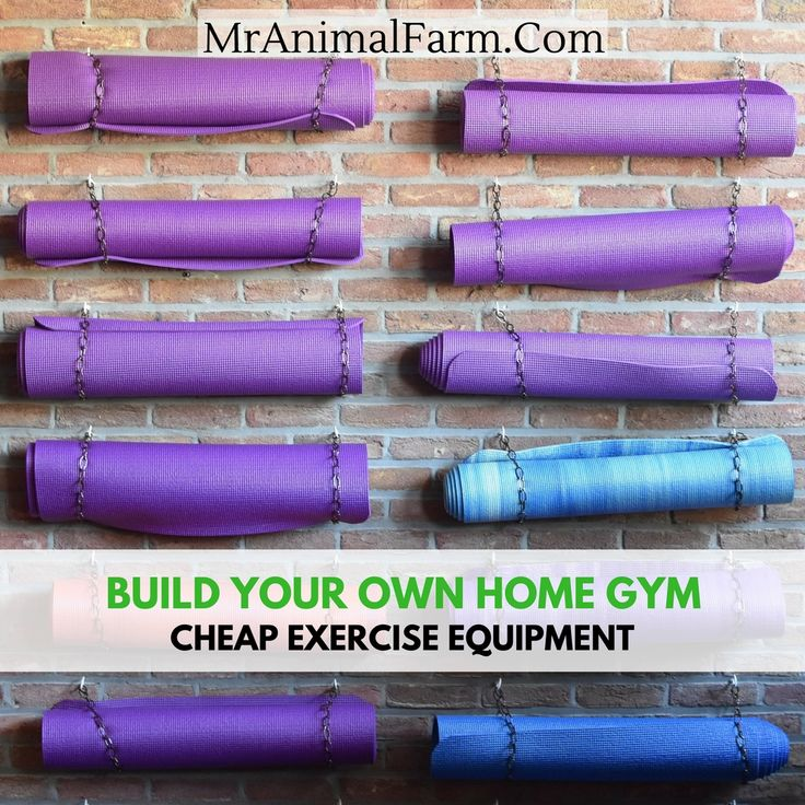 Best cheap home gym ideas on pinterest