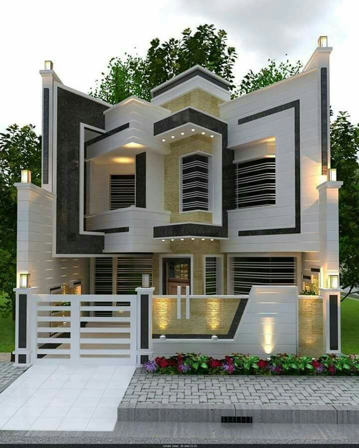 21 The Most Unique Modern Home Design In The World New House Front Design House Main Gates Design Small House Elevation Design