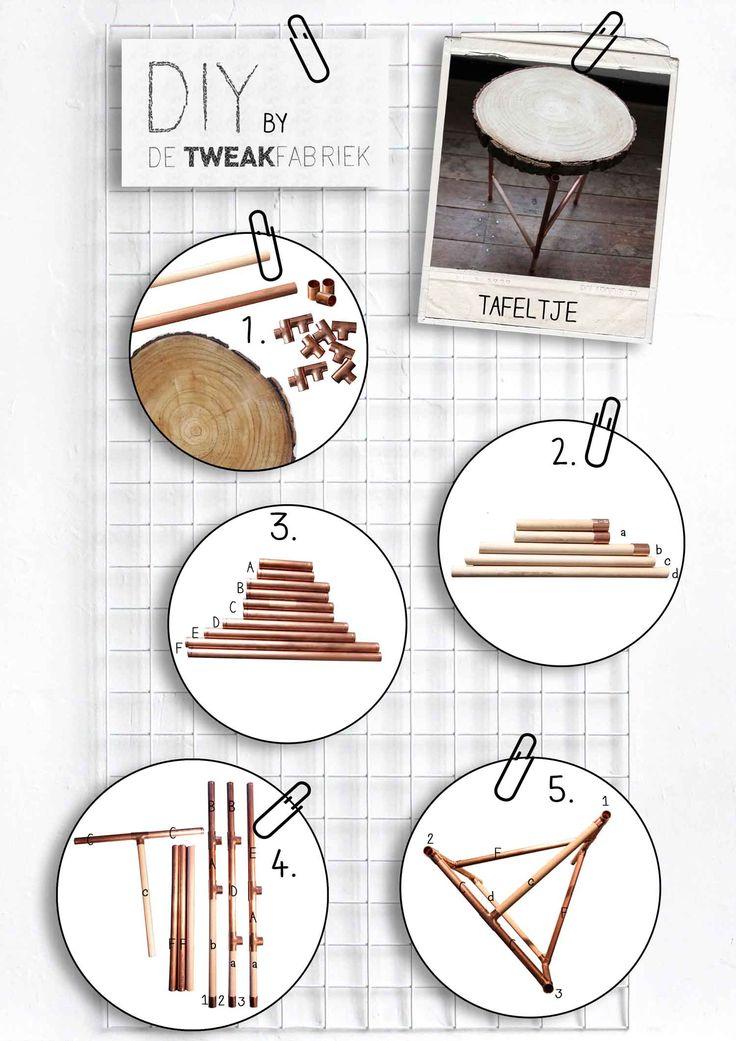 Maak je eigen tafeltje met deze DIY tutorial