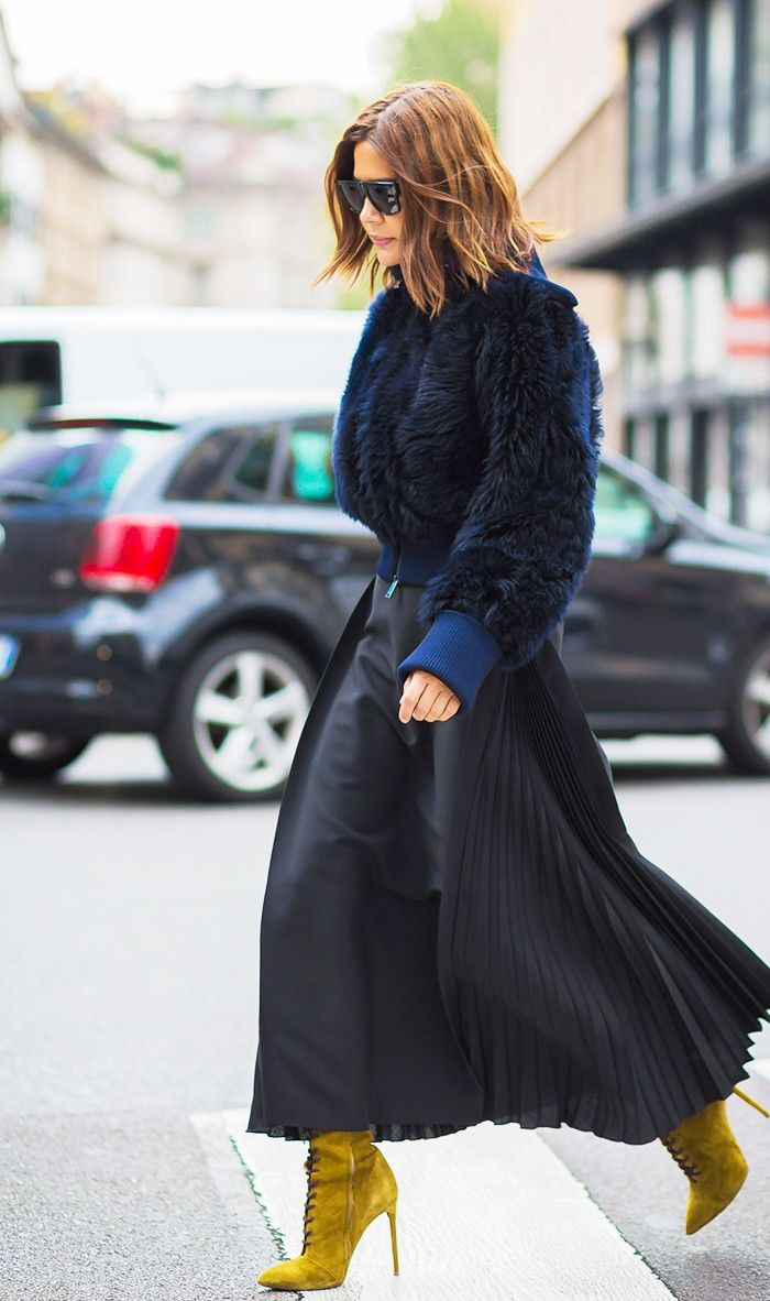 The 2017 Way to Wear Your Boots via @WhoWhatWear