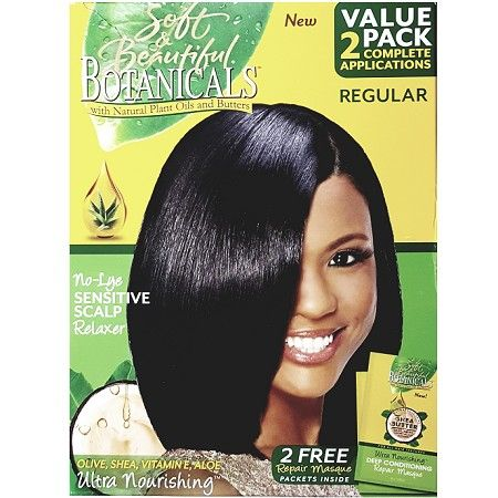 Soft & Beautiful Botanicals No-Lye Sensitive Scalp Relaxer Regular - 2 Applications $8.95   Visit www.BarberSalon.com One stop shopping for Professional Barber Supplies, Salon Supplies, Hair & Wigs, Professional Product. GUARANTEE LOW PRICES!!! #barbersupply #barbersupplies #salonsupply #salonsupplies #beautysupply #beautysupplies #barber #salon #hair #wig #deals #sales #Soft&Beautiful #Botanicals #NoLye #Sensitive #Scalp #Relaxer #Regular