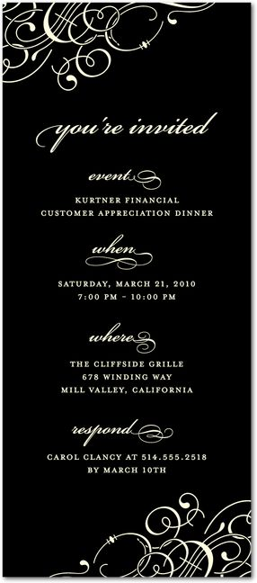 Best 25+ Corporate invitation ideas on Pinterest Event - Formal Business Invitation