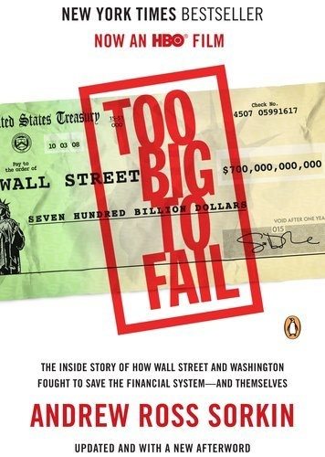 Too Big to Fail: The Inside Story of How Wall Street and Washington Fought to Save the FinancialSystem--and Themselves by Andrew Ross Sorkin, http://www.amazon.com/dp/0143120271/ref=cm_sw_r_pi_dp_KY5Gpb0JTHPN1