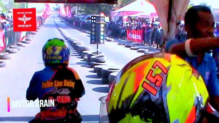 GANAS ! Drag Racing Ninja 155cc 201 Meter Pemula - Drag Bike
