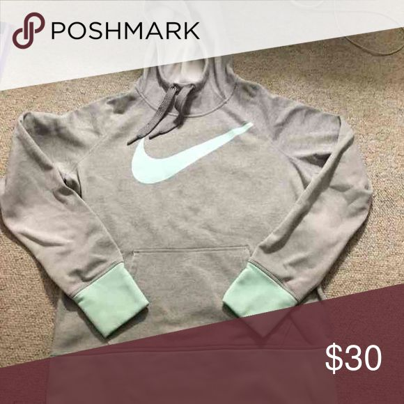 Tiffany blue Nike Gently used. Tiffany blue Nike sweatshirt. Size medium Other