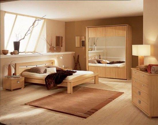 Light Wood Bedroom Furniture - http//www.housesdesigns/light