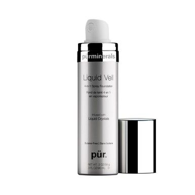Get airbrushed perfection in a flash with Pur Minerals Liquid Veil 4-in-1 Spray Foundation - coming soon to TVSN!
