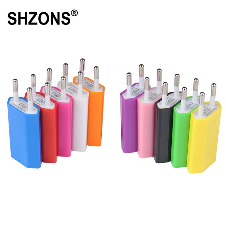 Hot Sale EU Plug USB Wall Charger Travel Home AC Wall Charger Adapter for iPhone 5s 6s 7 Plus for Samsung S5 S6 S7 Phone Charger