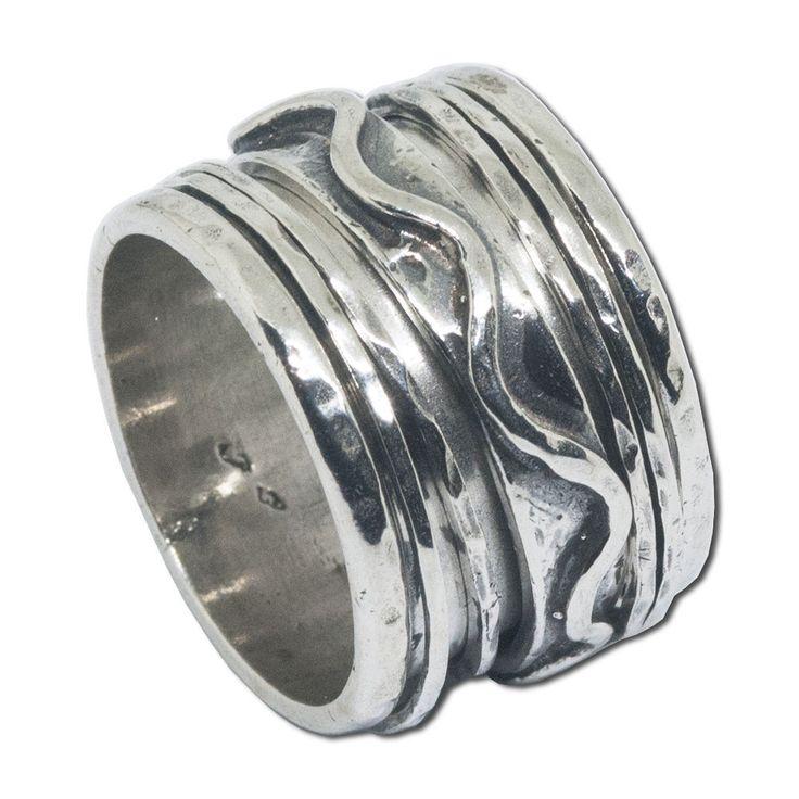 #spinner #ring #silver