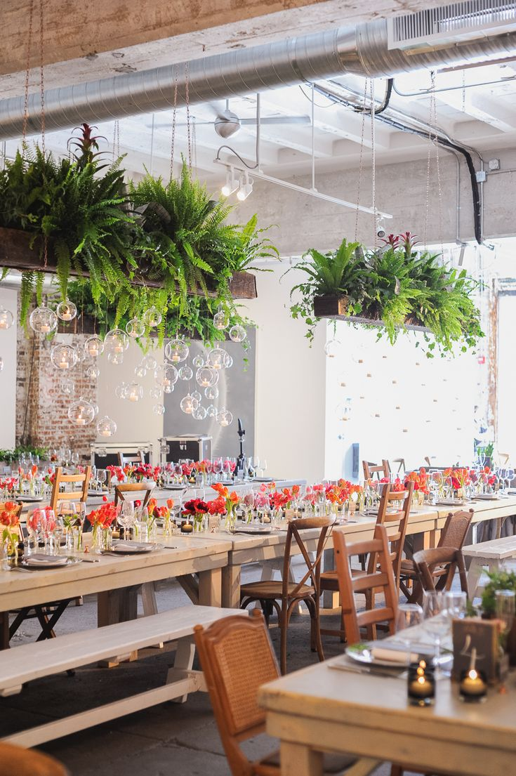 Wedding Flowers: Nature Meets Industrial at Longview Gallery in Washington, D.C.