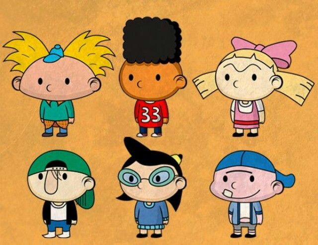 Hey Arnold! for the DAWWW