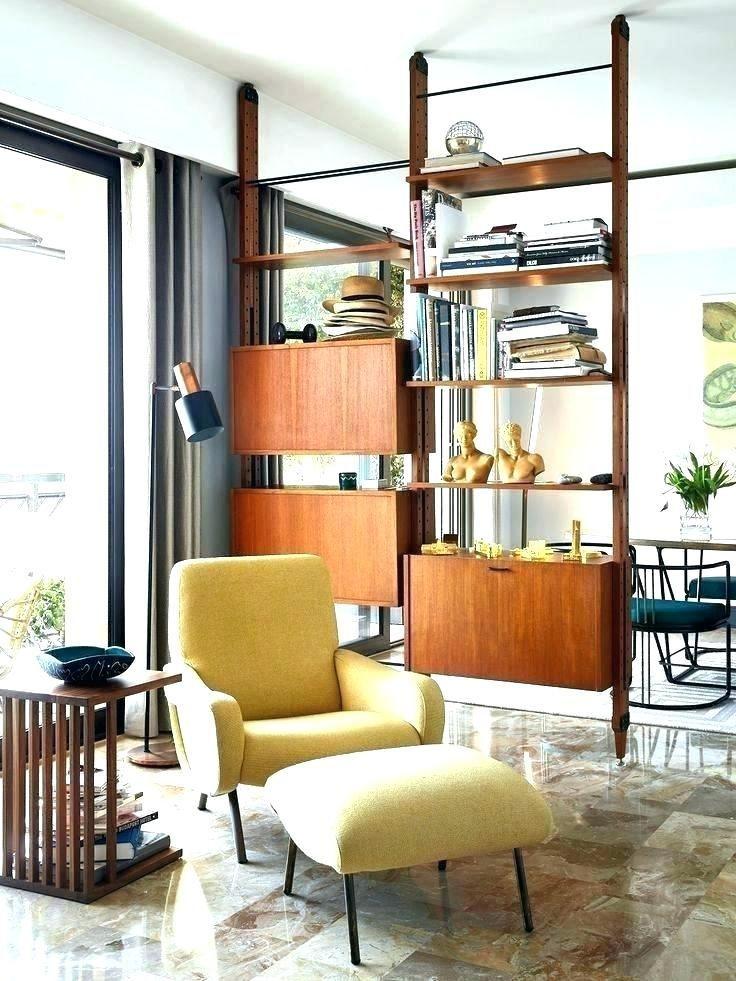 Bookshelf Room Divider Design Ideas Mid Century Modern Living Room Decor Mid Century Modern Living Room Living Room Decor Modern