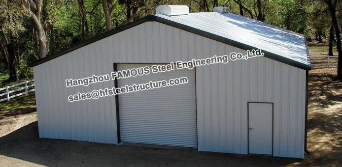 Estructurales de acero pre ingeniería coche pequeño garaje
