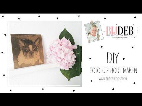 DIY Foto op hout maken...