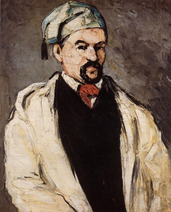 Uncle Dominique aka Man in a Cotton Hat : Paul Cezanne : Museum Art Images : Museuma