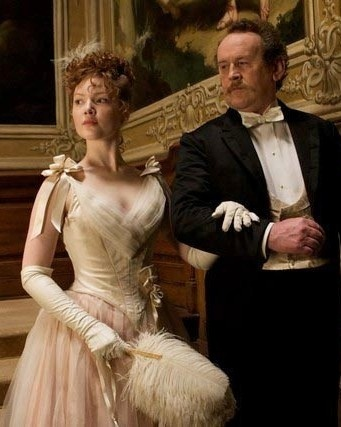 Bel Ami - Suzanne Rousset (Holliday Grainger) and Monsieur Rousset (Colm Meaney)