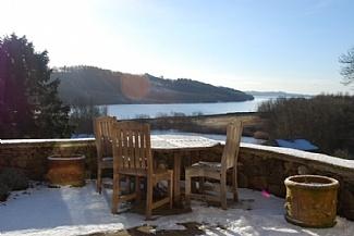 Stunning winter views, Derbyshire