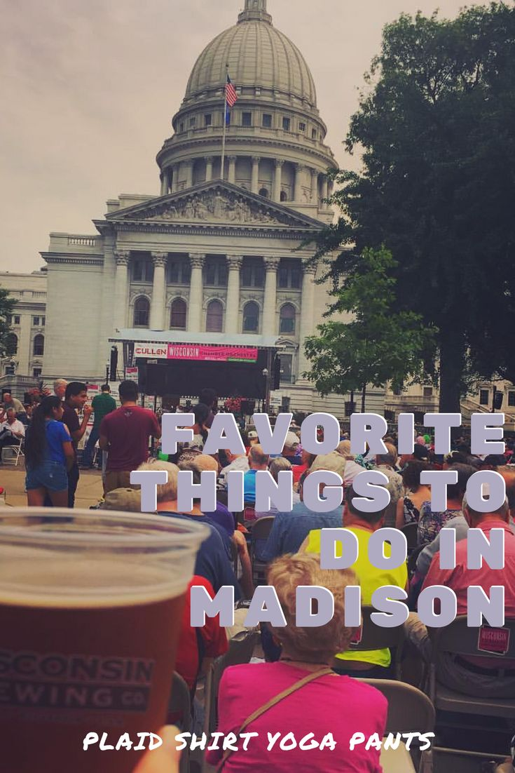 Do you like beer, chocolate, and mustard? Then you need to go visit Madison, Wisconsin. Summer time in this beautiful city is one of the best times to visit. What are you waiting for? Pin this image and read the blog to see my top 10 tips for visiting Madison, Wi. #TravelDestinationsUsaMidwest