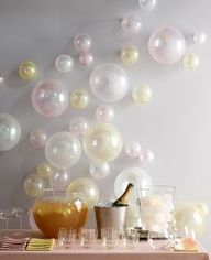wall design: Wedding, Party Decoration, Bridal Shower, Balloons, Partyideas, Party Ideas, New Years, Baby Shower