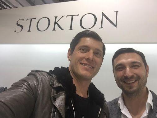 Selfie time 💥 Aldo Montano al nostro stand al #Pitti #Stokton #FabioSfienti  …