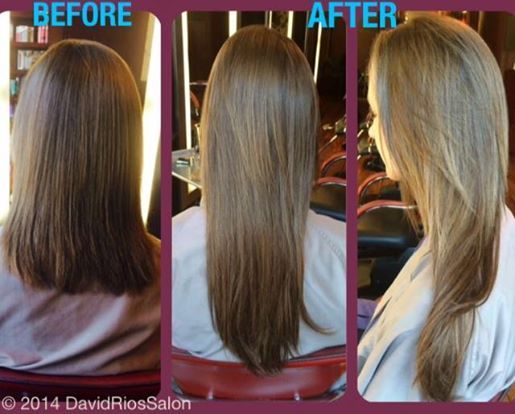 7 best hair extensions images on pinterest before after before and after shots of a recent hairdreams client david rios transformed shoulder length hair into a gorgeous mane using professional hair extensions pmusecretfo Image collections
