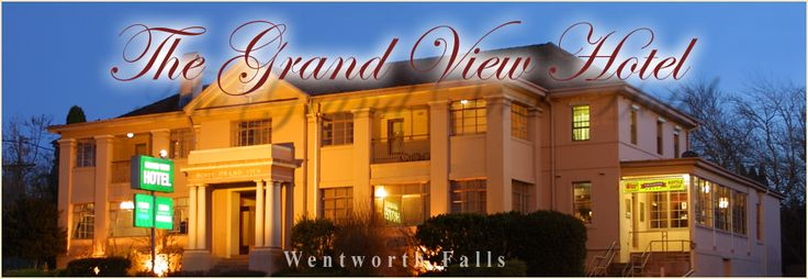The Grand View Hotel Wentworth Falls Accommodation, Blue Mountains Australia - ACCOMMODATION