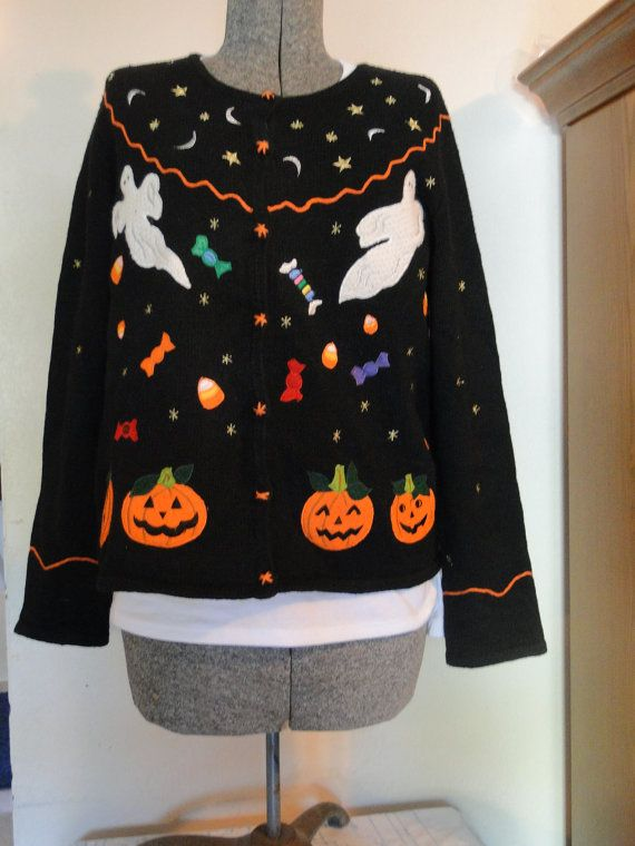 15 best Halloween Sweaters! Trick or Treat! images on Pinterest ...