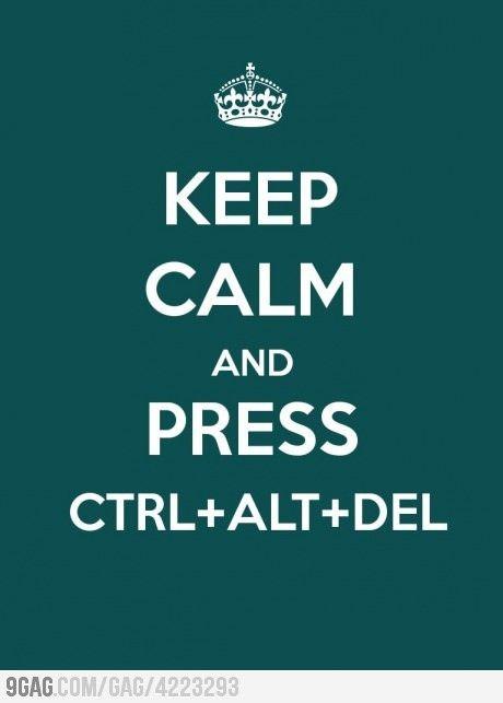 Keep calm and write your damn thesis