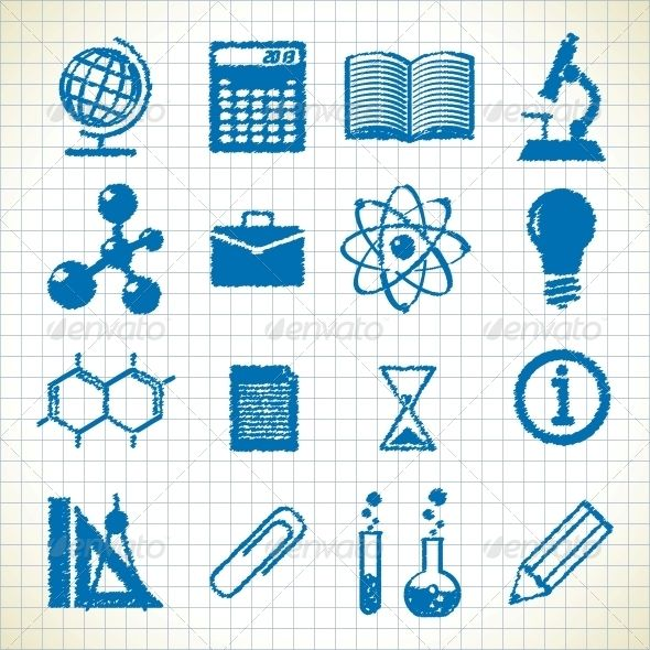 Symbols of Education  #GraphicRiver         symbols of education. icons in the style of the sketch. eps8     Created: 13May13 GraphicsFilesIncluded: JPGImage #VectorEPS Layered: No MinimumAdobeCSVersion: CS Tags: art #backtoschool #biology #book #bulb #calculator #document #education #graduation #homework #icon #illustration #learn #maths #microscope #paper #reading #school #science #set #sign #student #study #subject #symbol #teach #textbook #tube #university #vector
