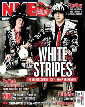 The world's first 'Icky Thump' interview appeared in the 12th May issue of NME in 2007.