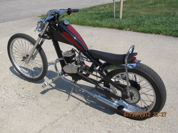 OCC stingray chopper motor question - Motorized Bicycle Engine Kit Forum
