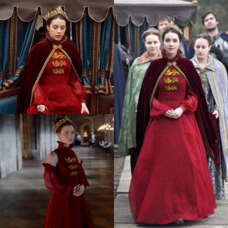 Reign episode 7 red dress 1930