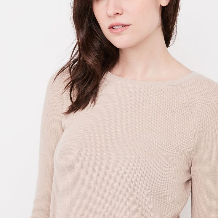 Roots-Women Tops-Louise Top-Flaxseed Mix-C