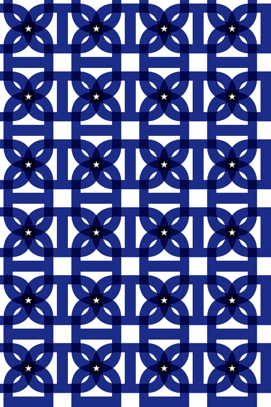 """D by Chris Sebastian (via happenstance http://happenstanceca.blogspot.com/2010/04/pattern-fun.html) #helvetica"""