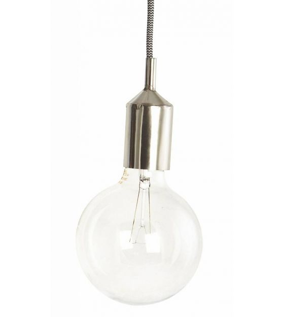 Housedoctor Sierstuk voor fitting, zilver metaal Ø4.5x11cm, Cover for sockets Kant silver - wonenmetlef.nl