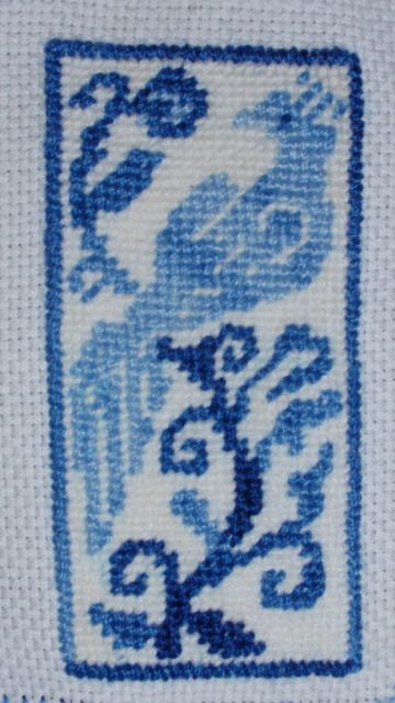 Petit Point embroidery I found the pattern on Pinterest
