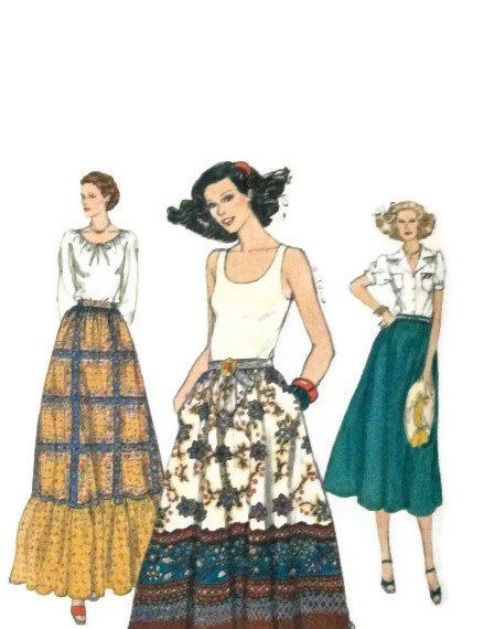 9812 Vintage Vogue pattern size 26 1/2 uncut women's by LeahsHeart