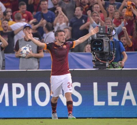 Gol histórico de Florenzi contra o Barcelona concorre ao prêmio de mais bonito do ano (foto: ANSA)